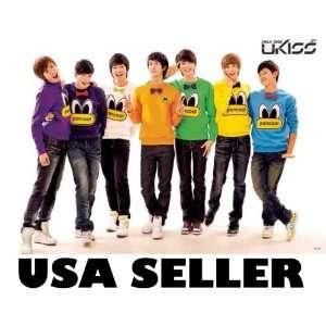 Kiss colored shirts POSTER 34 x 23.5 Korean boy band UKiss Only One