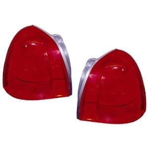 2003 2009 Lincoln Town Car Tail Lights 1 Pair(Driver and