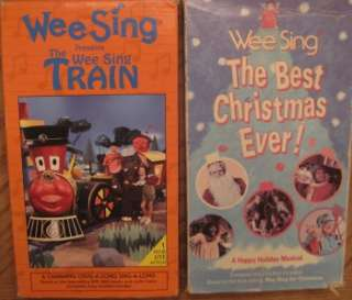 WEE SING SILLYVILLE MUSICAL MANSION TOGETHER GRANDPA XMAS TRAIN