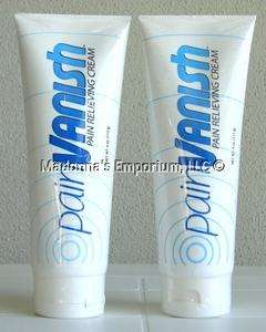 Pain Vanish Pain Relieving Cream 4oz each Sealed