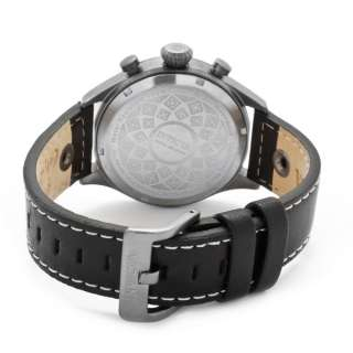 Mens Watch Terra Retro Military Force Gun Metal Finish 0353