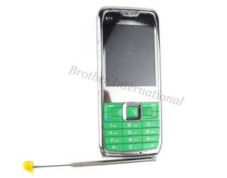 E71 Unlocked Phone Mobile Cell Phone Quad Band Dual Sim + FM Radio