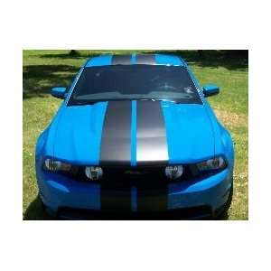 2010   2011 Ford Mustang Rally Stripe Graphics set