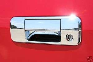 Toyota Tundra Chrome Tailgate Handle Cover 2007   2010