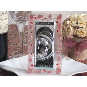 Wedding Favors Murano Art Deco Icon with Pink glass