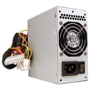 A Power 420W 20 pin Dual Fan mATX PSU w/SATA Electronics