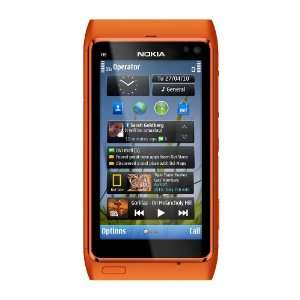 Nokia N8 Unlocked GSM Touch Screen Phone Featuring GPS