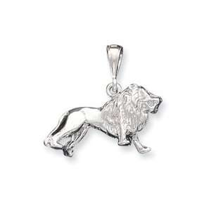 Sterling Silver Lion Charm QC911 Jewelry