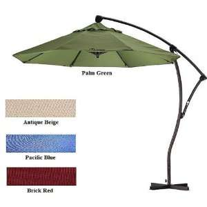 9 Foot Premium Heavy Duty Cantilever Umbrella Patio, Lawn