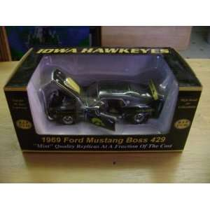 Hawkeyes 1969 Ford Mustang Boss 429 Diecast Car