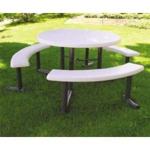 Lifetime Round Swing Out Picnic Table