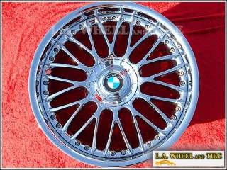 Set of 20 BMW 745li/750li/760li OEM Chrome Wheels Rims
