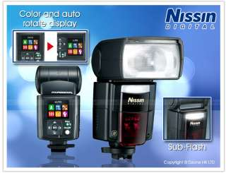 Nissin Di866 Mark II Flash for Canon EOS DSLR #F262 4938574866011