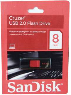 GENUINE SANDISK CRUZER 8GB FLASH DRIVE SDCZ36 008G A11 619659053697