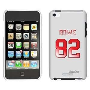 Dwayne Bowe Back Jersey on iPod Touch 4 Gumdrop Air Shell