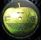 BEATLES ABBEY ROAD UK APPLE 1ST PRESS ***MISPRESS***