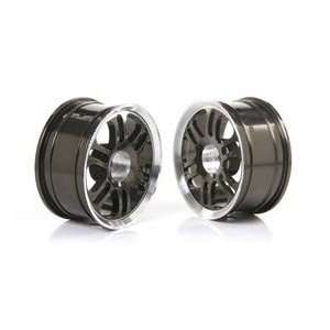RC On Road Car Aluminum Alloy Wheels (Gray and White)