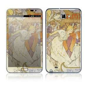 Amants Decorative Skin Cover Decal Sticker for Samsung Galaxy Note GT