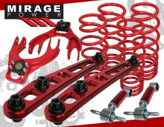 96 00 HONDA CIVIC CAMBER+LOWER SPRING SUSPENSION KIT 99