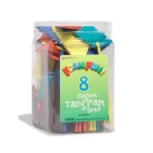 Foam Fun Magnet Tangrams Toys & Games