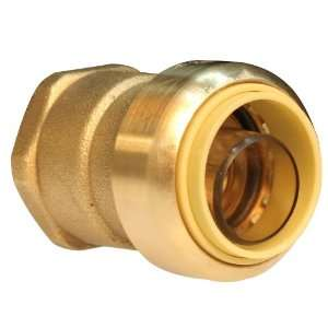 , Lead Free Brass Push Fit Straight Female Coupling