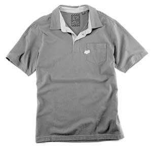 Fox Racing Uniform Polo   Small/Grey Automotive