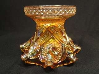IMPERIAL Hobstar and Arches or Royalty MARIGOLD Carnival Glass PUNCH