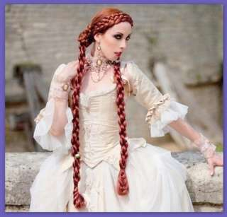 Renaissance Helix Braids Wig Hair 20 + colors custom