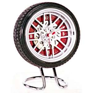 BBS Wheels Rim Tire Alarm Clock