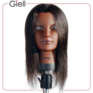 21 Cosmetology Mannequin Head 100% Human Hair Whitney