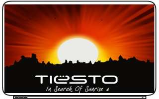 DJ TIESTO MUSIC Laptop Netbook Skin Cover Sticker Decal