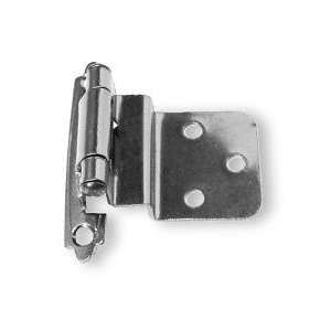 Pair Inset/Offset 3/8 Black Nickel Hinge Self Closing L H0104A BLN O