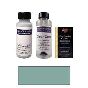 Oz. Teal Blue Metallic Paint Bottle Kit for 1993 Mercedes Benz All