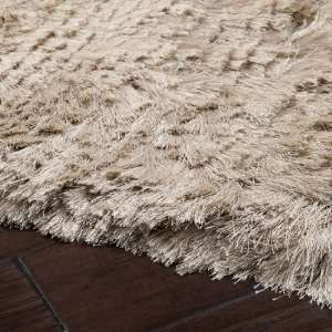 5 x 8 Dunn Antique Tan Shag Area Throw Rug