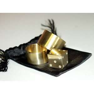 Cipher 2 Brass Prediction Magic Close Up Trick Toys