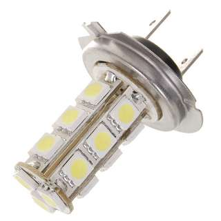 bright High Intensity H7 6W 190Lumen 18x5050 SMD LED Car White Light