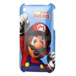 New Super Mario Bros Hard Plastic Back Case for iPhone 3G