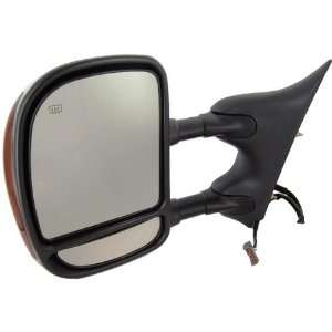 New Driver Side Mirror 2003 2004 Ford Super Duty Chrome