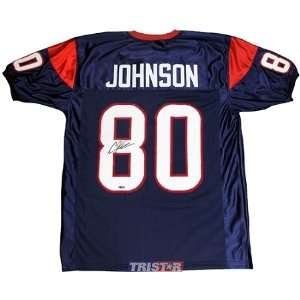 Autographed Houston Texans Custom Blue Jersey