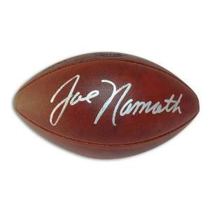 com Joe Namath Autographed/Hand Signed Official Duke NFL Football