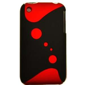Cuffu   R Red 2Tone V2  Fashion Design Case Cover for Apple Iphone 3G