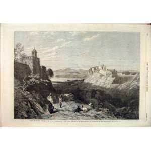 Chiusi Etruria Richardson Goats Mountain Fine Art 1864