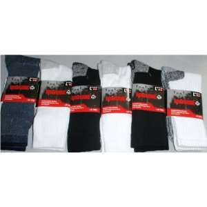 6 Pair Men WOLVERINE Cotton Boot Socks Antimicrobial Arch