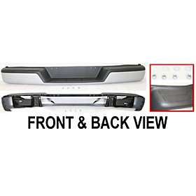 New Rear Step Bumper Primered Chevy Express Van Chevrolet 1500 2002