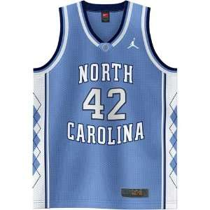 Nike Elite North Carolina Tar Heels (UNC) #42 Sky Blue