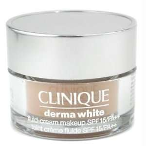 Clinique Derma White Fluid Cream Makeup SPF15   # 01 Ivory
