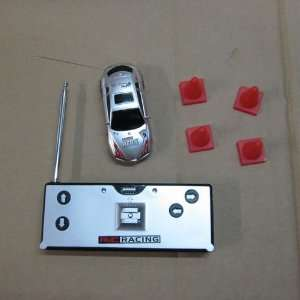 mini rc remote radio control auto electric toy car in coke