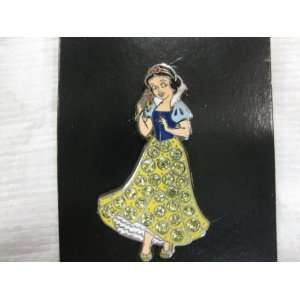 Disney Pin Snow White with Jeweled Dress Toys & Games