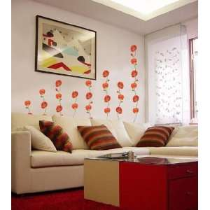 POPPY & ROSE Decor Mural Art Sticker Wall Paper CP 021