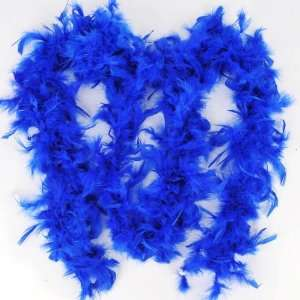 Girl Fluffy Plush Feather Scarf Shawl Wrap Blue Toys & Games